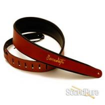 Benedetto Leather Guitar Strap - Brown