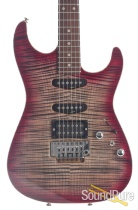 Anderson Drop Top Black to T-Red Burst Electric #05-02-18P