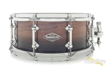Craviotto 5.5x14 Walnut Custom Snare Drum-Black Candy Fade