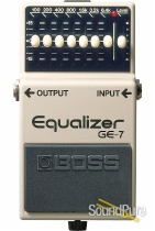 Boss GE-7 Graphic Equalizer Effect Pedal