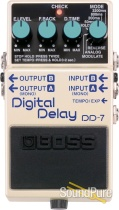 Boss DD-7 Digital Delay Effect Pedal Refurbished (B-Stock)