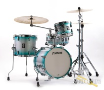 Sonor 4pc AQ2 Safari Drum Set - Aqua Silver Burst