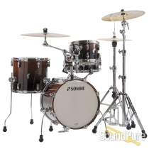 Sonor 4pc AQ2 Safari Drum Set - Brown Fade