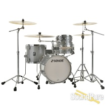Sonor 4pc AQ2 Safari Drum Set - Titanium Quartz