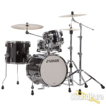 Sonor 4pc AQ2 Safari Drum Set - Transparent Black