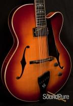 Buscarino Electric Virtuoso KM0892605 - MINT! Archtop Guitar