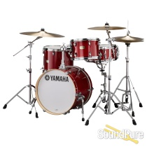 Yamaha 3pc Stage Custom Be Bop Drum Set w/680W Cranberry Red