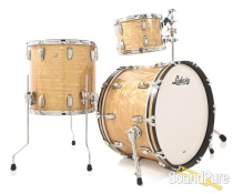 Ludwig 3pc Classic Maple Fab Drum Set Aged Onyx