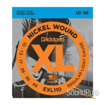 D'Addario EXL110 Regular Light 10-46 Guitar Strings
