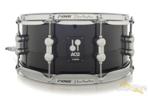 Sonor 6x14 AQ2 Maple Snare Drum - Transparent Black