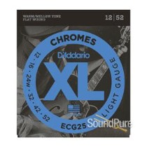 D'Addario ECG25 Chromes Light 12-52 Guitar Strings