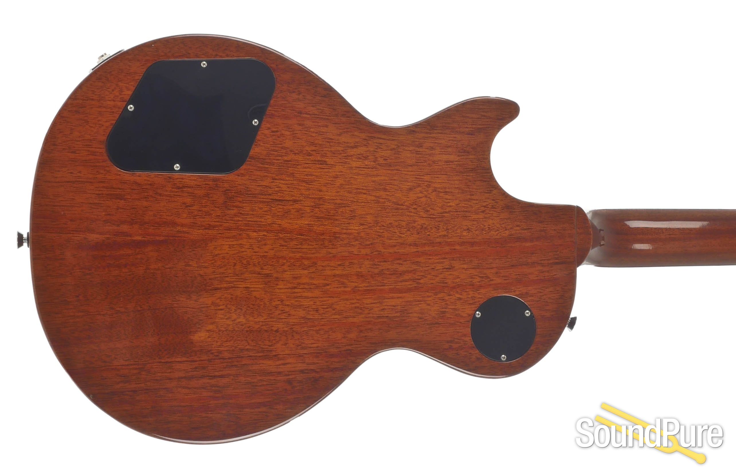 Gibson Les Paul Classic 2 Tone Sunburst 132710366 Used Plus Electric Guitar Trans Ebony The Music Luthier Certification For Instruments