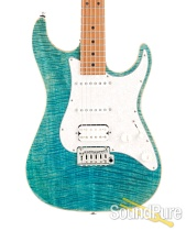 Suhr Standard Plus Bahama Blue Electric Guitar #JS6H3Z