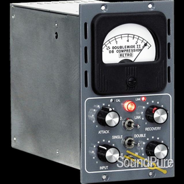Retro Doublewide II 500-Series Tube Compressor | Soundpure com