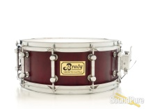 Brady 6x14 Jarrah Block Snare Drum - Natural Satin