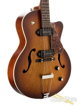 Godin 5th Ave CW Kingpin II Cognac Burst Archtop Guitar