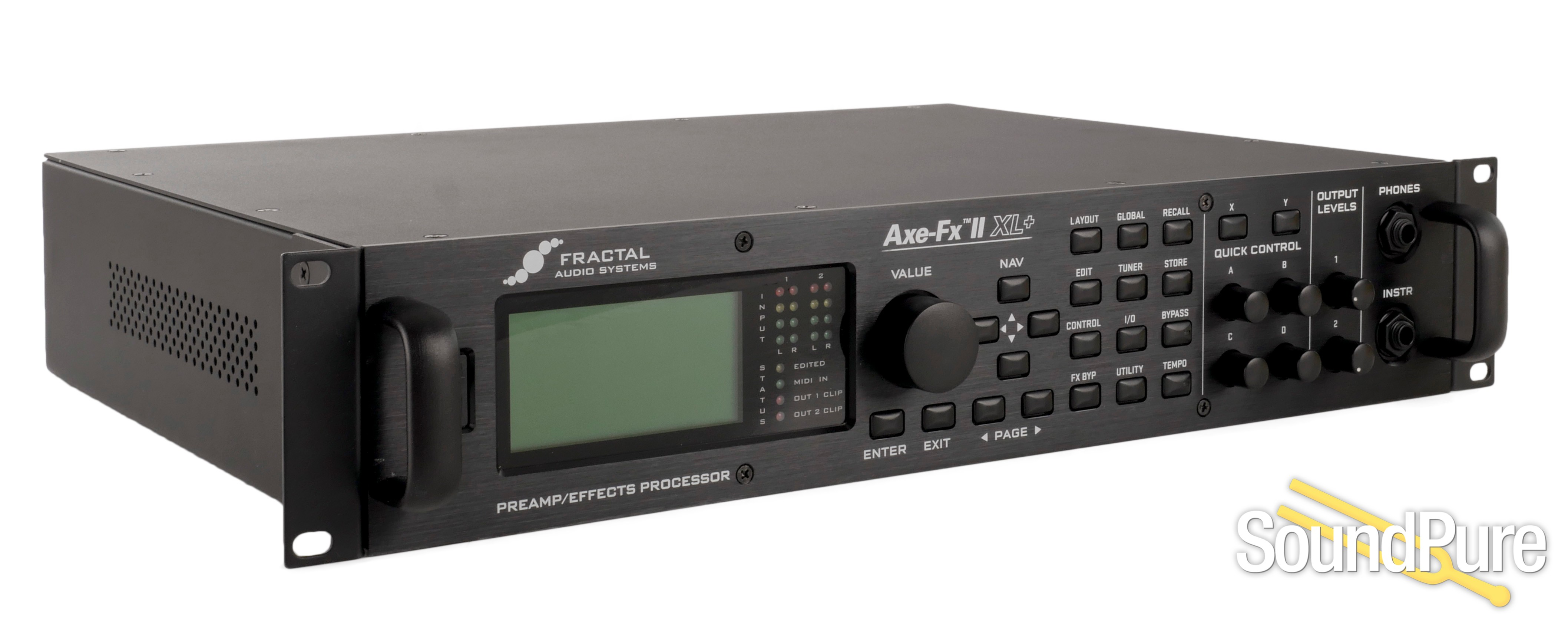 Fractal Audio Axe FXII XL+ W/ MFC-101 And EV-1 - Used