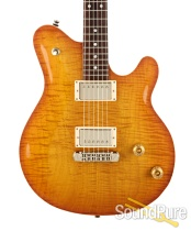 Michael Tuttle Carve Top Deluxe Iced Tea Burst Electric #21