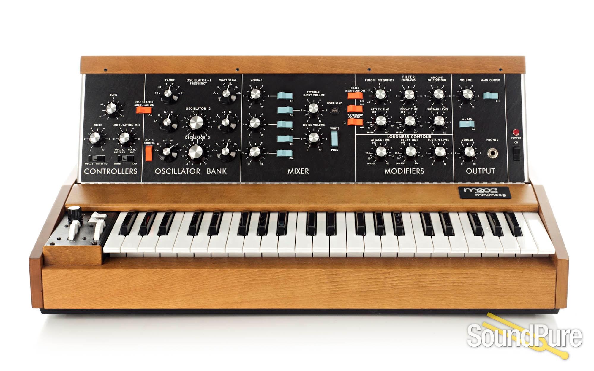 Moog Music Minimoog Model D - Used | Soundpure com