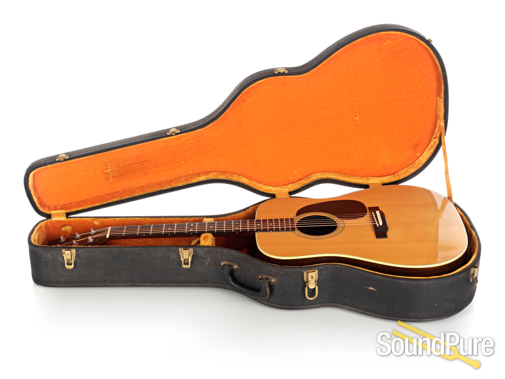 Martin Vintage 1969 D-28 Natural Acoustic #255852