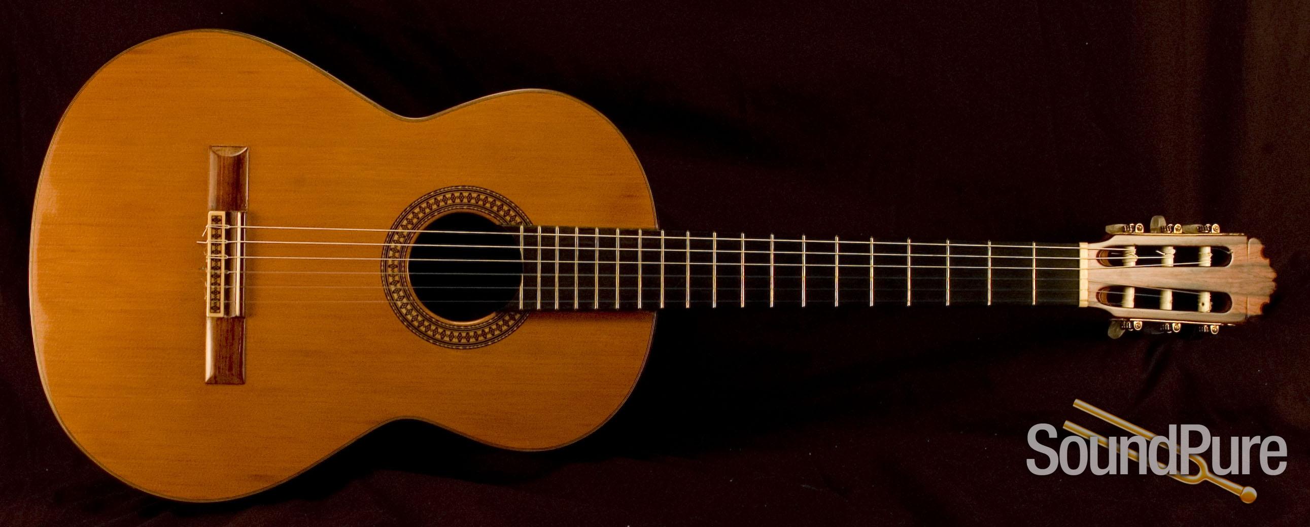 1971 Contreras Concert Classical Guitar Manuel Sr Signed