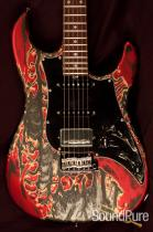 Tyler Studio Elite Burning Water 2K Electric Guitar 10023