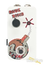 Flickinger Rude Bomb Boost Pedal - White