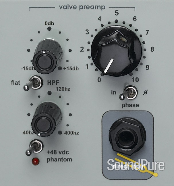 Sebatron AXIS 200VU Two Channel Tube Preamp | Soundpure com