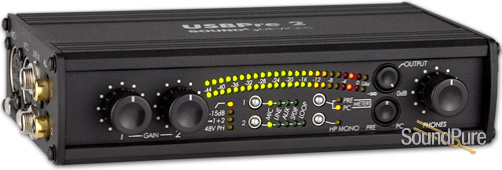 Sound Devices USBPre 2 Recording Interface From