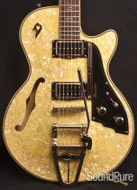 Duesenberg Starplayer TV Cream Pearloid Electric Guitar