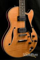 Comins GCS-1 Vintage Blond Semi-Hollow Guitar