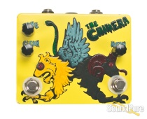 Flickinger The Chimera Boost / Overdrive Pedal Light Lime