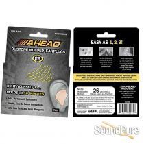 AHEAD Custom Molded Earplugs Tan