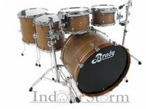 Brady Drums 5 piece Spotted Gum Shell Pack