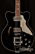 Kay Vintage Reissue Jazz II Black Electric Guitar