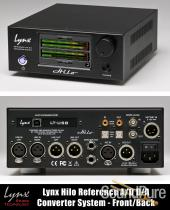 Lynx Hilo (Black Finish) Reference A/D D/A USB System