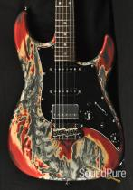 Tyler Studio Elite Burning Water 2K Electric Guitar 12161