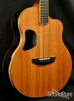 McPherson 4.0XP Redwood/Brazilian Acoustic Guitar #2016