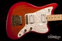 Tuttle Custom Classic JM Cherry SB Electric Guitar