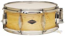 6.5x14 Natural Satin Craviotto Unlimited Snare Drum