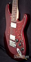 Suhr Classic Black Cherry Metallic 2-Humbuck Electric Guitar