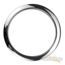 "Bass Drum O's 4"" Chrome Bass Drum Port Rings"