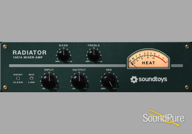 SoundToys Radiator - Altec 1567A Channel Strip Plug-in