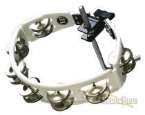 LP Cyclops Jingle Tambourine - Steel/White/Mountable