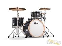 Gretsch 3pc Brooklyn Series Jazz Drum Set-Satin Dark Ebony