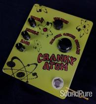 Flickinger Cranky Atom Overdrive Pedal - Dark Green