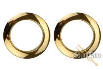 "Bass Drum O's 2"" Brass Bass Drum Rings 2 Pack"