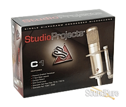 Studio Projects C1 Large Diaphragm Condenser Microphone From Studio Projects