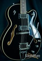 Duesenberg Imperial D-Tron Hollow Electric Guitar - Black