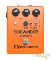 FX Engineering Sidewinder Open Overdrive Effect Pedal